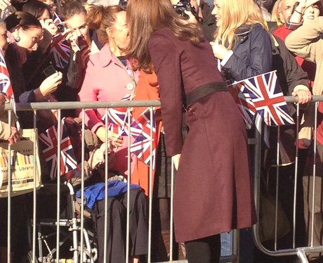 Duchess of Cambridge in the North East