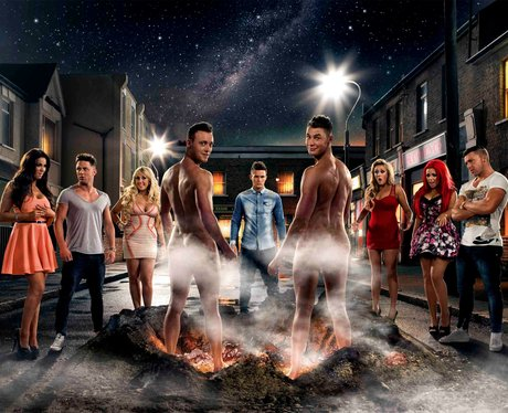 The cast of MTV reality series Geordie Shore.