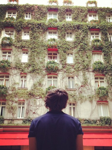 Harry Styles in Paris.