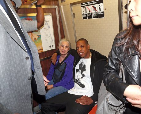 Jay- Z on the tube