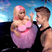 Image 10: Nicki Minaj and Justin Bieber on the diving board