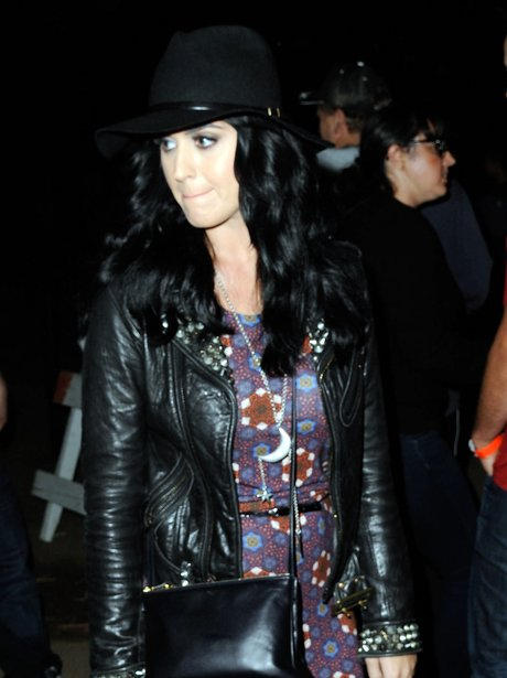 Katy Perry at the Haunted Hayride in Los Angeles.