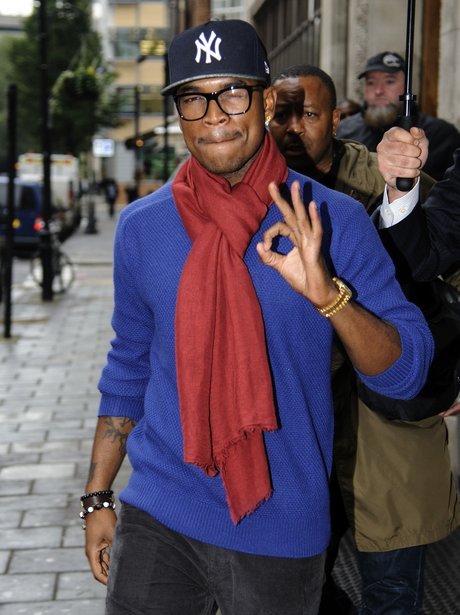 Ne-Yo in central London after The X Factor UK.