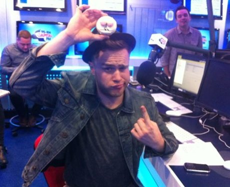 Check out troublemaker Olly Murs following our craze