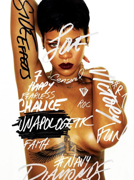 Rihanna's new album cover.