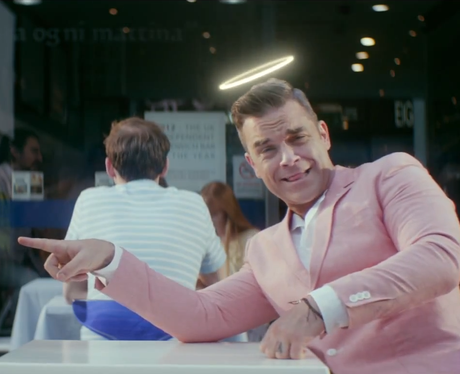 Robbie Williams- 'Candy' video still