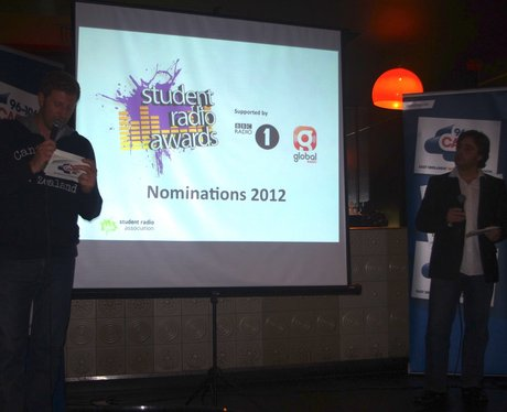 Student Radio Awards Nomination Party