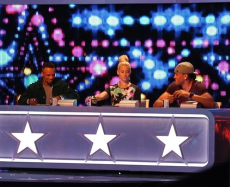 Aston on the 'Got To Dance' judging panel.