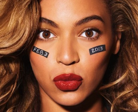 Beyonce teases her Superbowl show.