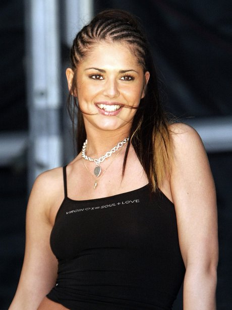 Cheryl Cole performs in 2003