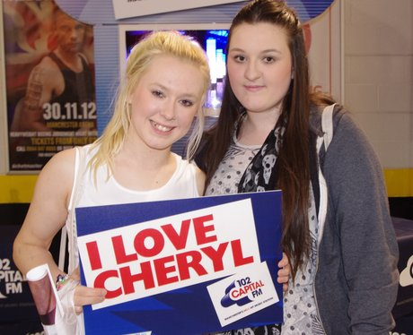 Cheryl's Soldiers at Manchester Arena