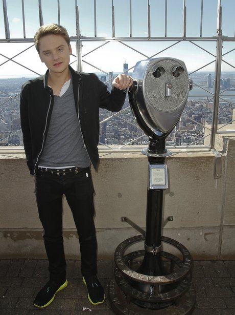 Conor Maynard visits the Empire State Building.