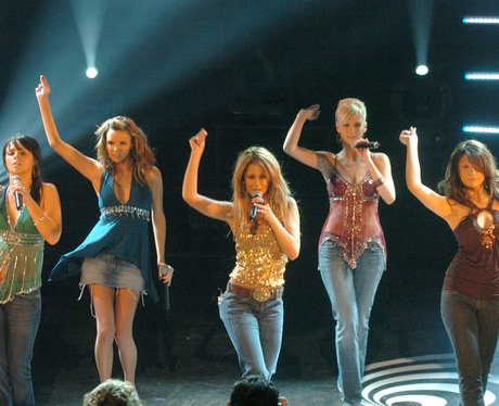 Girls Aloud perform on 'Top Of The Pops'