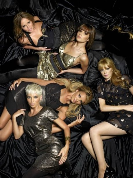 Girls Aloud promote their 'Greatest Hits Tour'