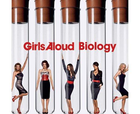 Girls Aloud's 'Biology' single cover.