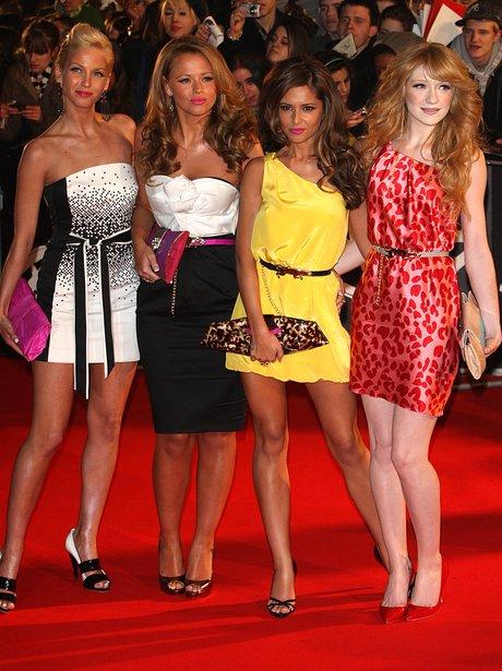 Girls Aloud BRITS 2008