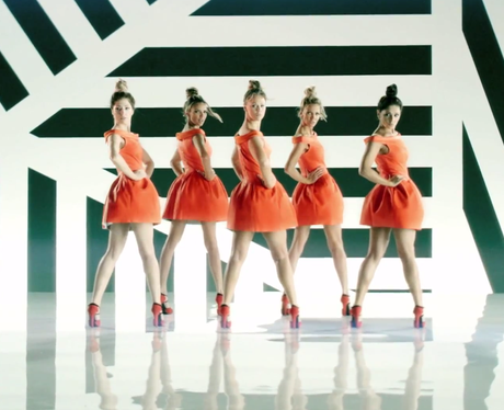 Girls Aloud's 'Something New' Music Video.