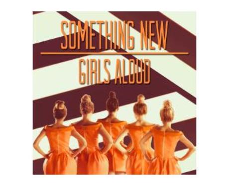 Girls Aloud's 'Something New' single cover