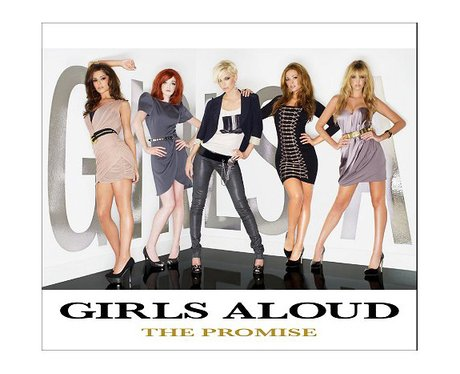 Girls Aloud's 'The Promise' single cover.