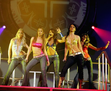 Girls Aloud perform on their 'What Will The Neighbours Say?' tour