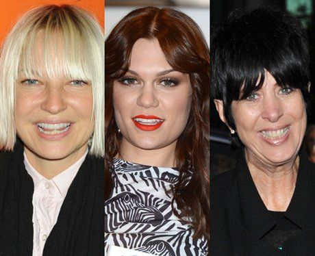 Jessie J, Diane Warren and Sia