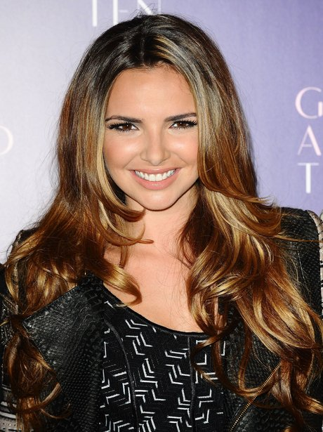 Nadine Coyle at the Girls Aloud press conference