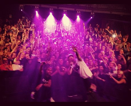 Professor Green tweets a picture on tour