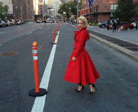 Rita Ora in NY