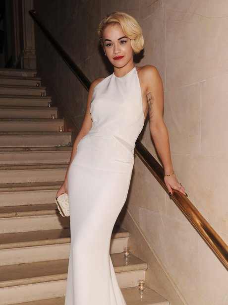 Rita Ora Wows At Celebration Event In New York City With Flowing