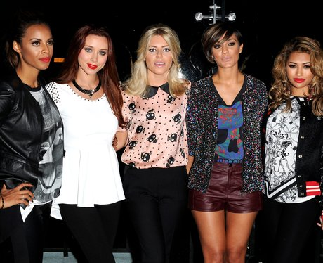 The Saturdays at the Hello Kitty Forever Launch.