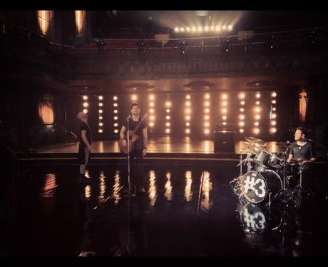 The Script shooting music video