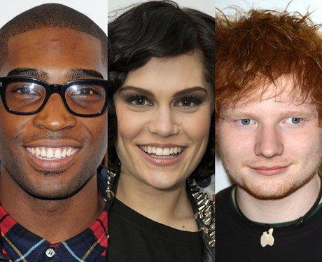 Tinie Tempah, Ed Sheeran and Jessie J