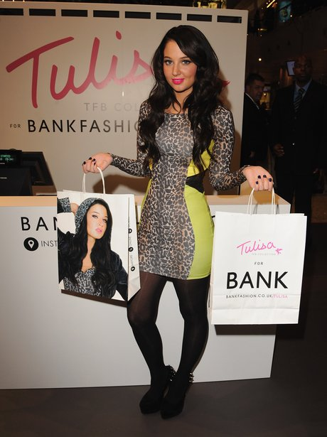 Tulisa launches her fashion range.
