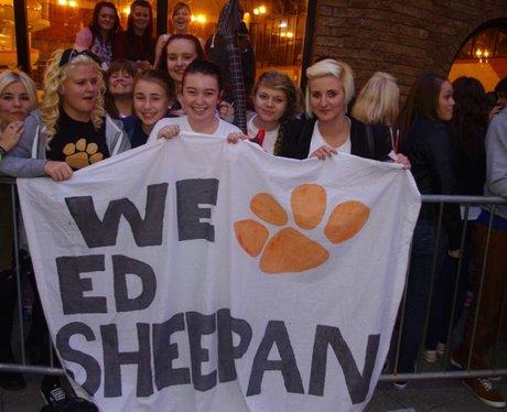 Ed Sheeran in Newport