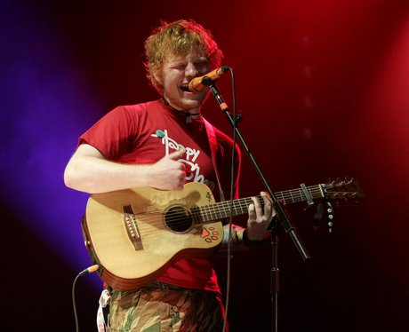 Ed Sheeran's recent tour
