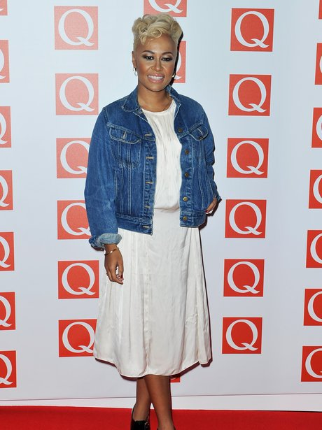 Emeli Sande at the 2012 Q Awards.