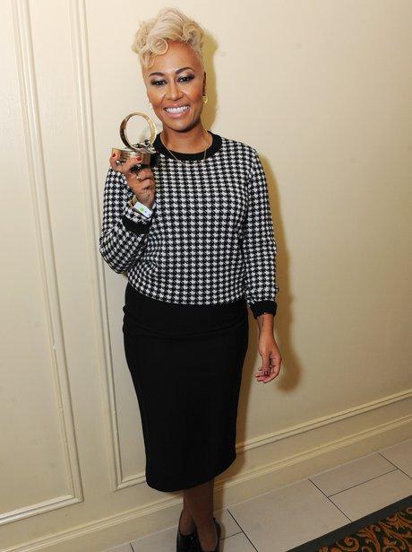 Emeli Sande at the Q Awards 2012.