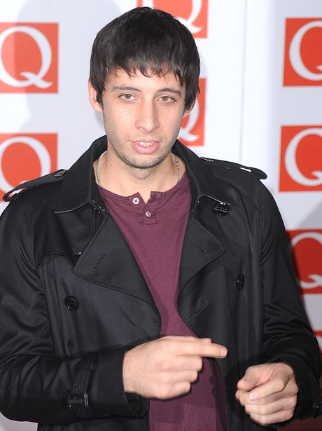 Example attends the Q Awards 2012.