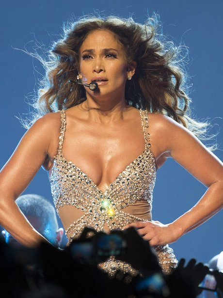 Jennifer Lopez live on stage