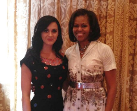 Katy Perry and Michelle Obama