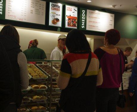 Krispy Kreme Store Opening in Sunderland