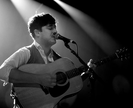 Mumford & Sons perform live in concert.