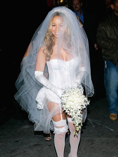 Mariah Carey wedding dress Halloween costume