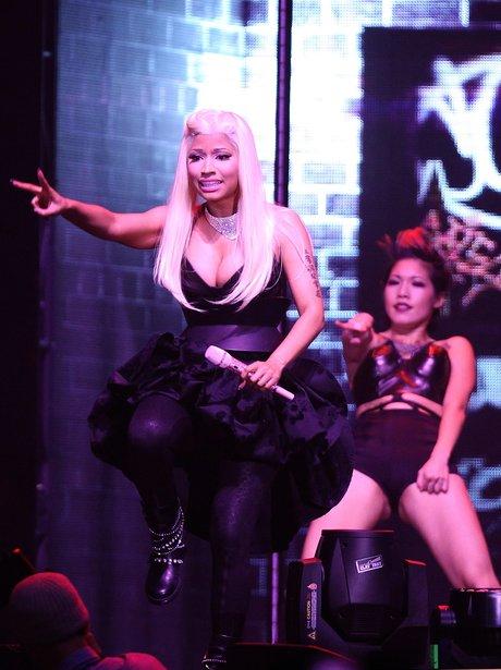 Nicki Minaj performs live in concert.