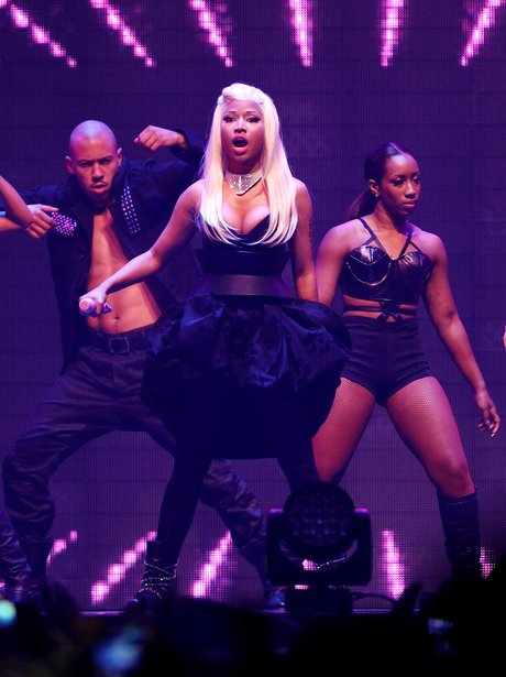 Nicki Minaj performs live in concert.