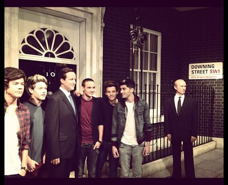 One Direction outside Downing Street