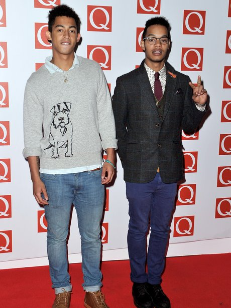Rizzle Kicks at the Q Awards 2012.