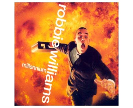 Robbie Williams 'Millennium' album cover