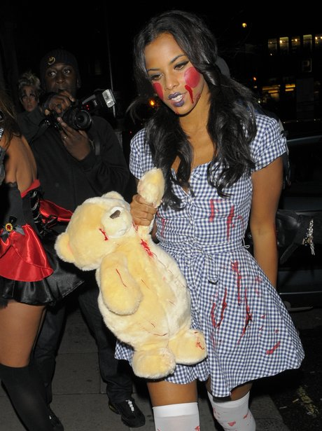 Rochelle Wiseman Halloween costume