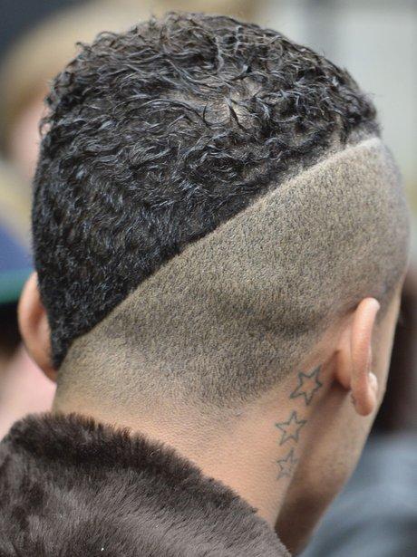 Aston Merrygold shaved head
